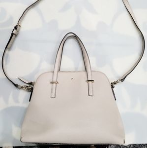 Kate Spade Stone Gray Leather Street Maise Satche